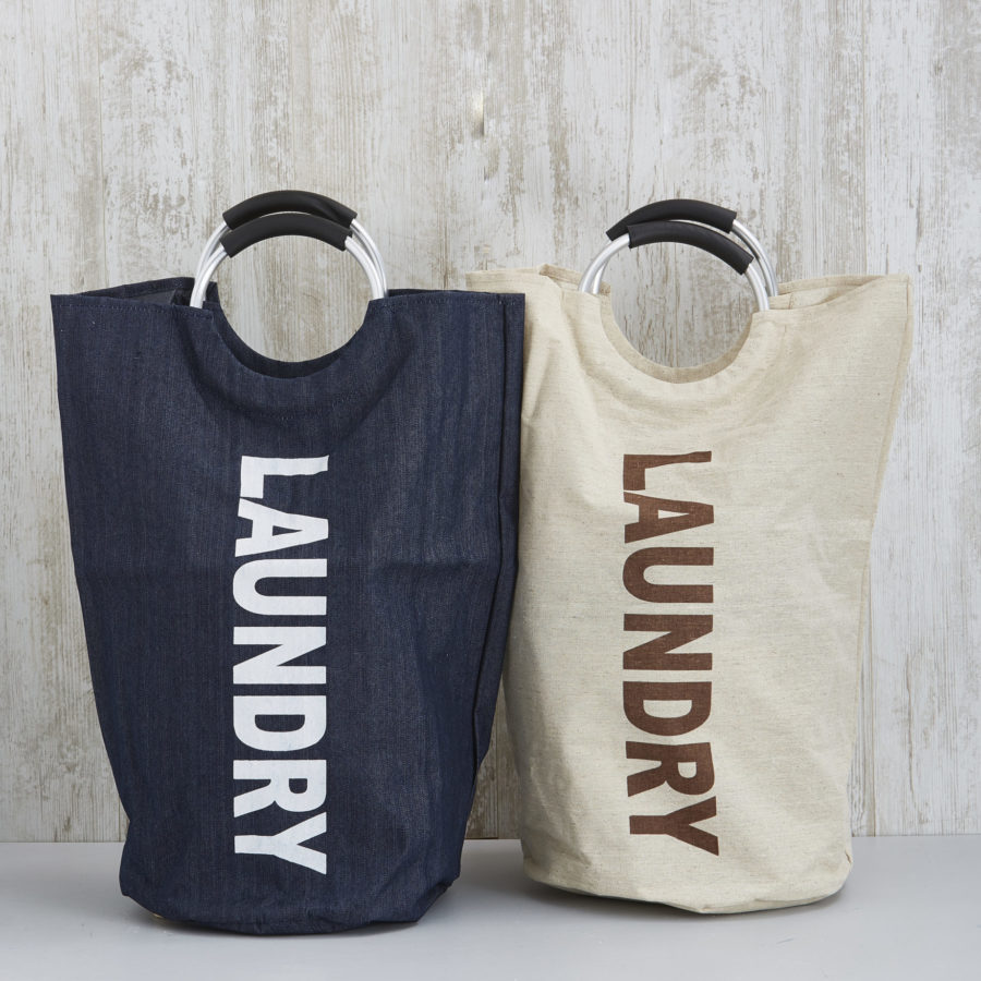 Laundry Bag with Metal Handles 1