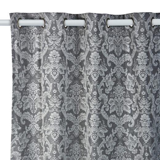 Damask Eyelet Curtains 2