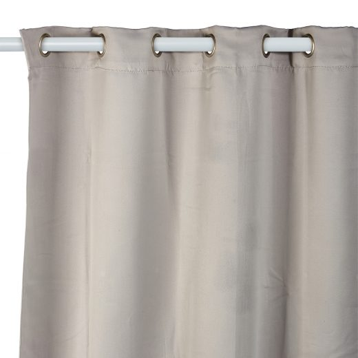 Woven Block out Eyelet Curtains 2