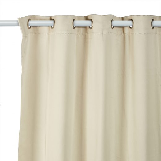 Woven Block out Eyelet Curtains 3