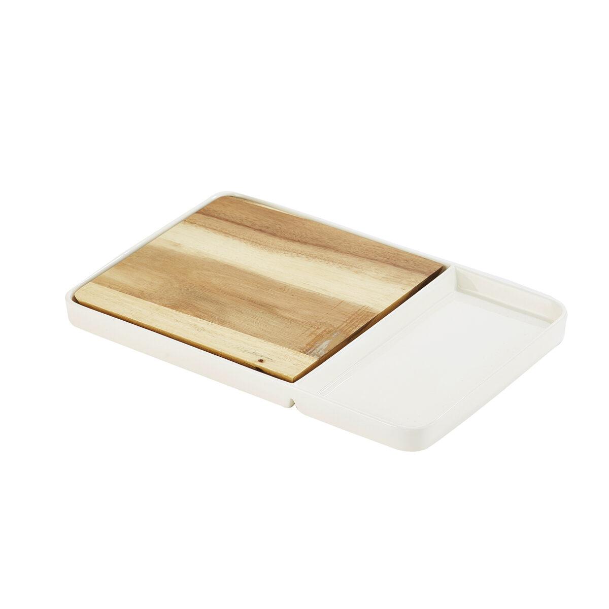 White Ceramic Serving Board 1