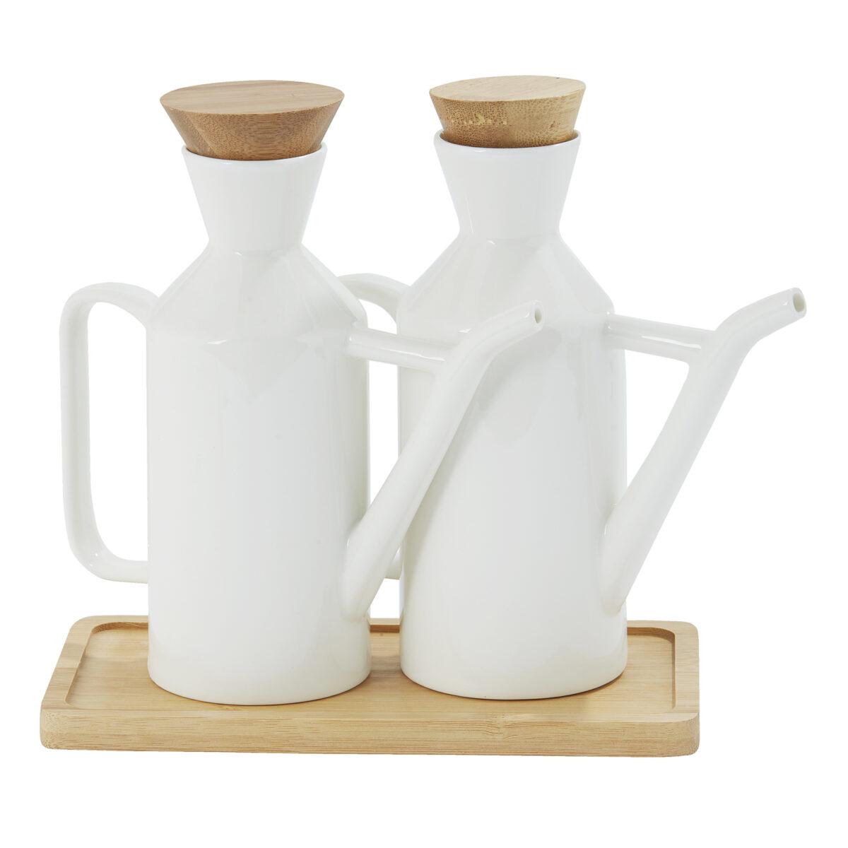 White Ceramic Pourers 1