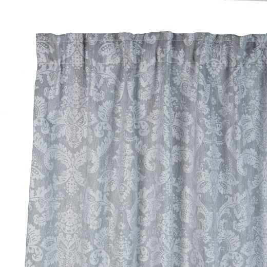 Damask Taped Curtain 1