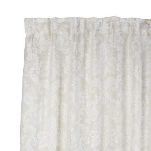 Damask Taped Curtain 2