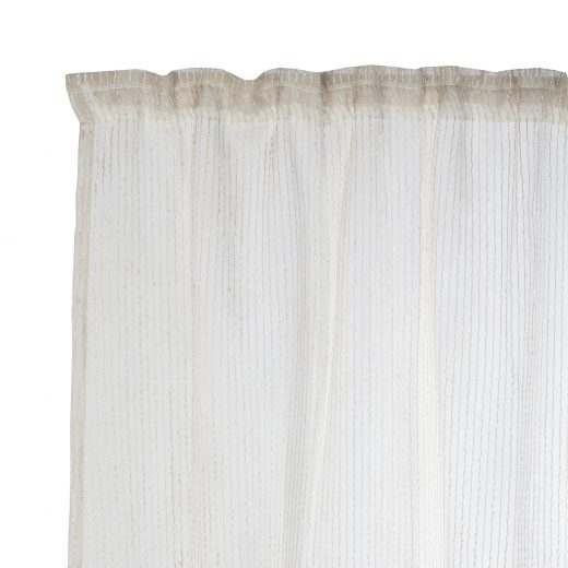 Sheer Taped Curtains 2
