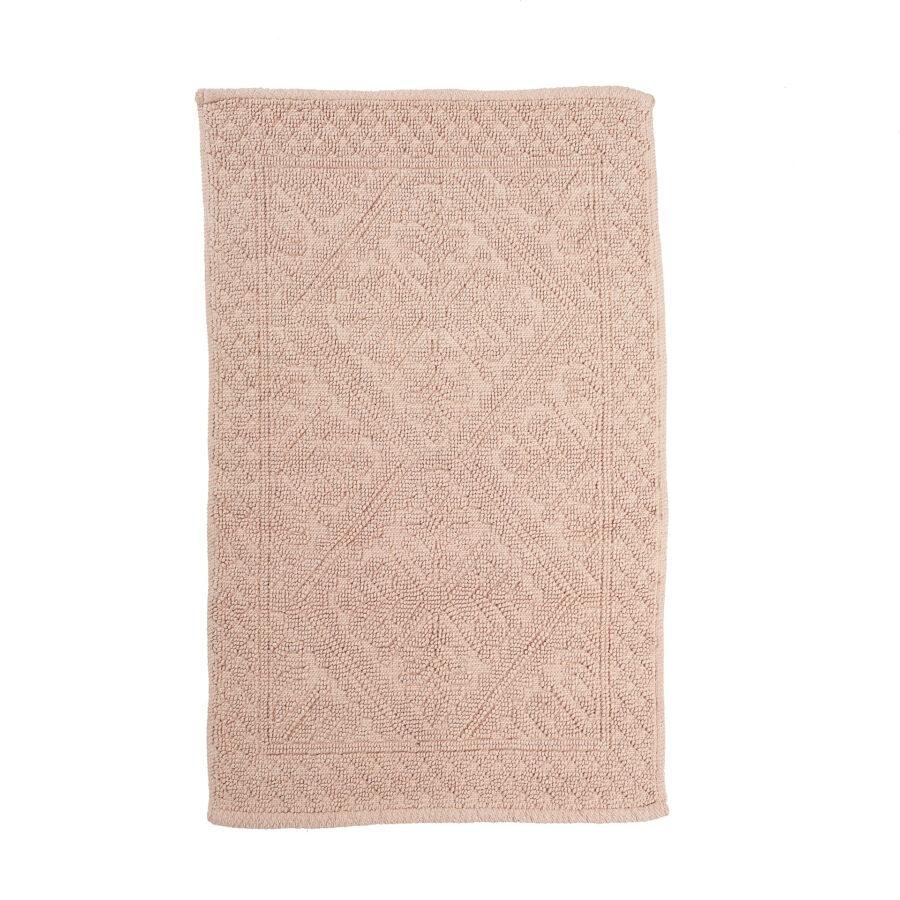 100% Cotton Jacquard Woven Bathmat 1