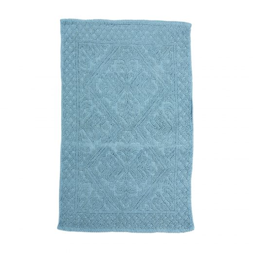 100% Cotton Jacquard Woven Bathmat 2