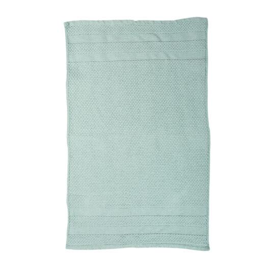 100% Cotton Lateral Stripe Woven Bathmat 1