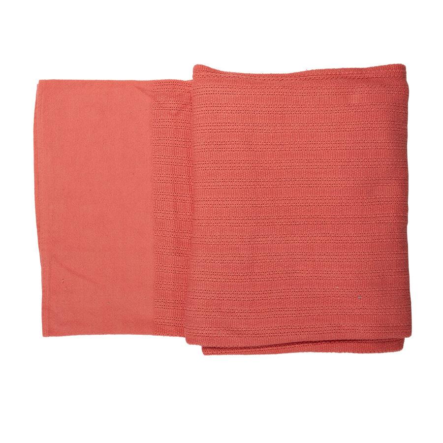 100% Cotton Woven Blanket Medium 1