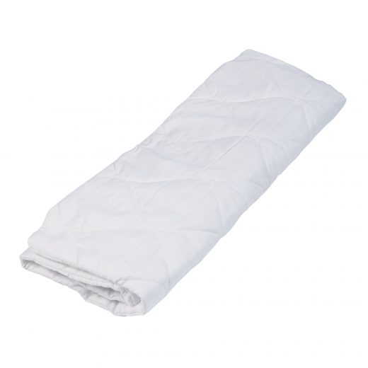 Quilted Pillow Protector - White Available in Standard and King 2
