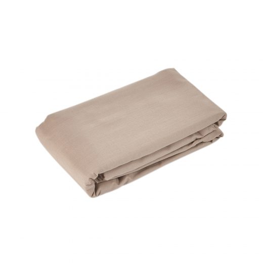 50/50 Polycotton Fitted Sheet in White, L.Grey,Rose,Stone,Duck Egg,Pebble,Denim & D.Grey 7