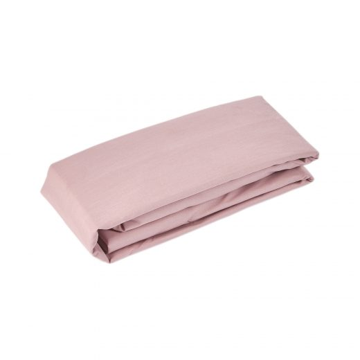 50/50 Polycotton Fitted Sheet in White, L.Grey,Rose,Stone,Duck Egg & Denim 4