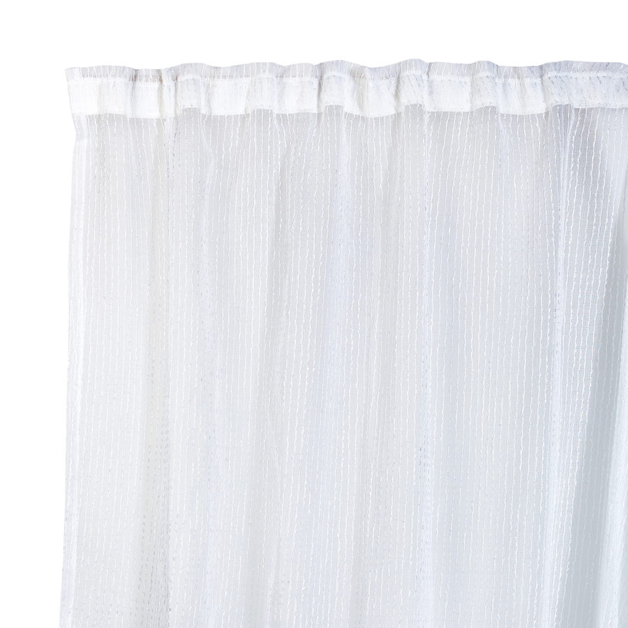 Sheer Taped Curtains 1