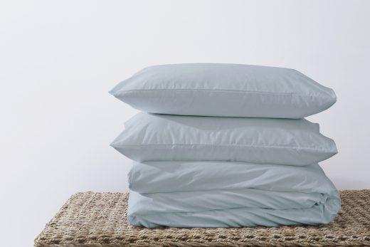 50/50 Polycotton Duvet Cover Set - Available in White, L. Grey, Rose Pink, Stone, Duck Egg, Pebble, Denim & D.Grey 5