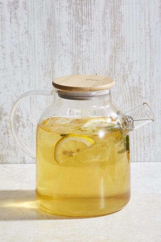 Large Glass Tea Pot 1