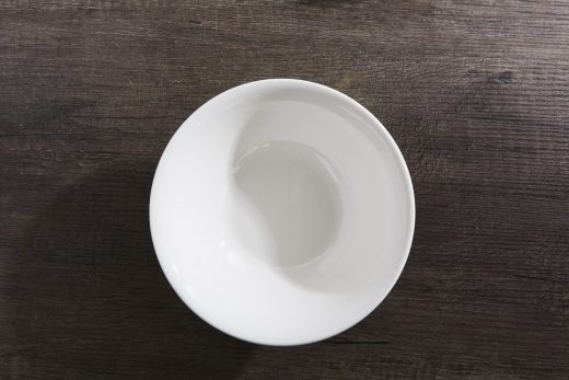 White Ceramic Plates, Bowls & Mugs 4