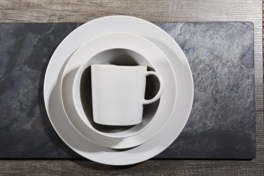 16 Piece Dinner Set Light Grey 1