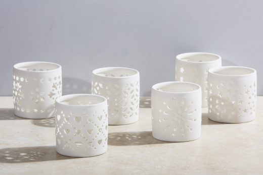 Porcelain Tea Light Holders 1