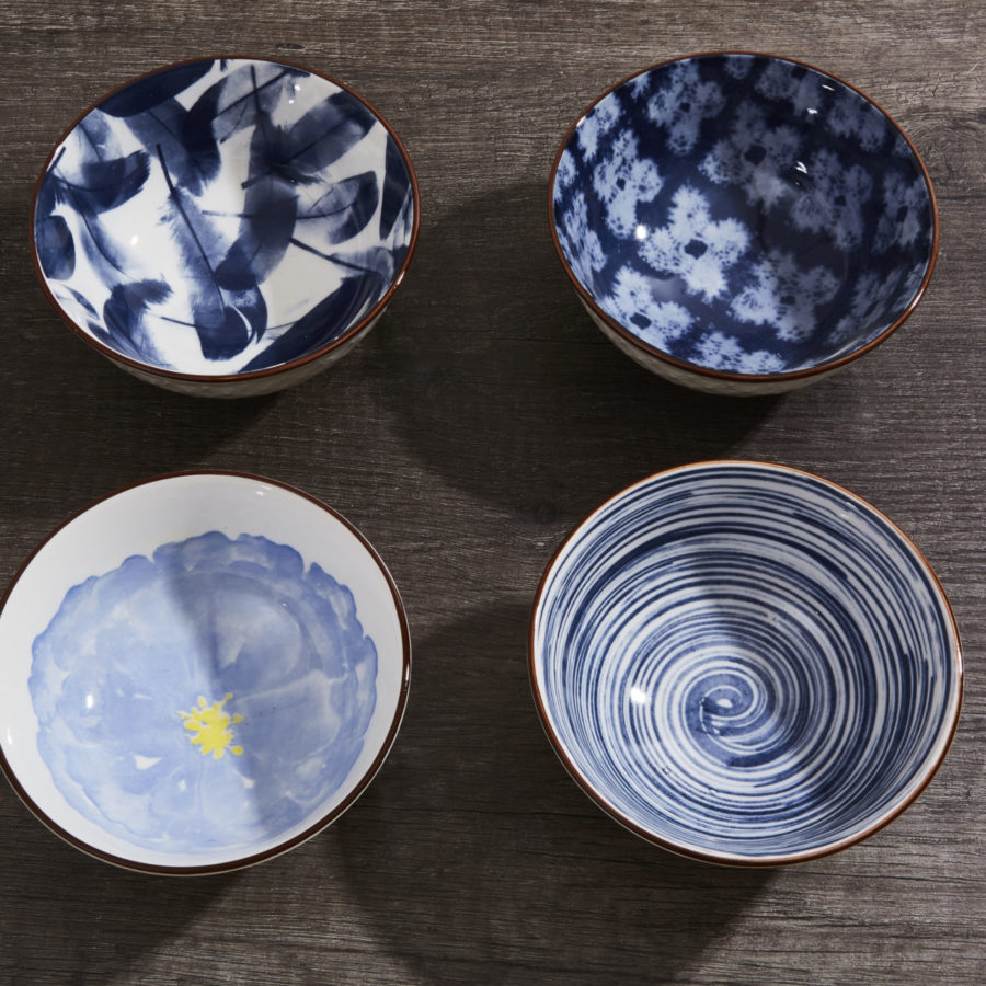 Blue Bowl Set 1