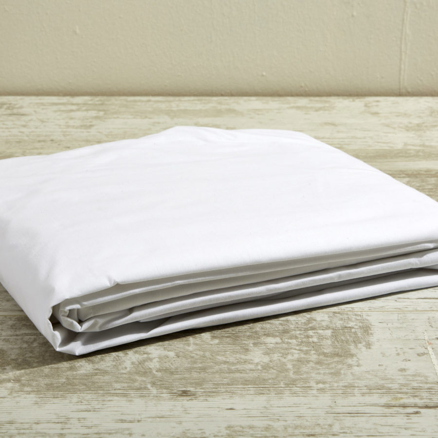 200 Thread Count 100% Cotton Cot Fitted Sheet 1