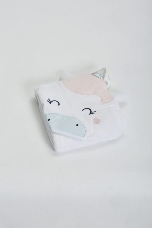Hooded Unicorn Towel 1