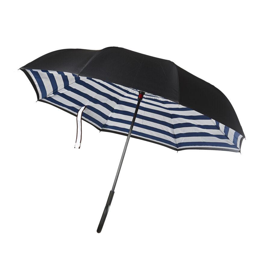Blue Stripe Umbrella 1