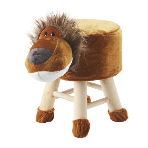 Kids Animal Stool - Lion 1