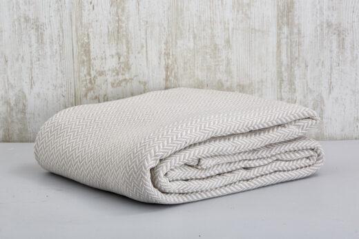 100% Cotton Herringbone Blankets 2