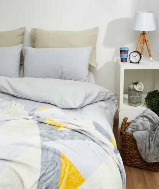 100% Brushed Cotton Winter Duvet Cover Sets 3