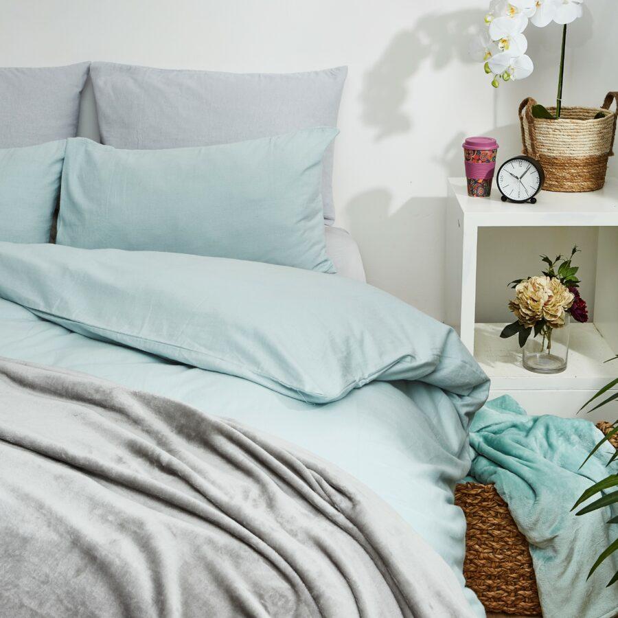 100% Brushed Cotton Winter Duvet Cover Sets 1
