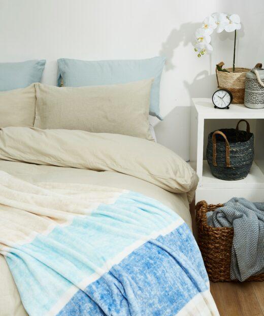 100% Brushed Cotton Winter Duvet Cover Sets 2