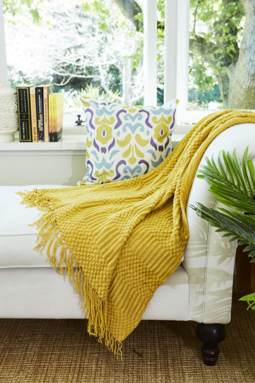 Super Soft Throw with Fringe Detail 1