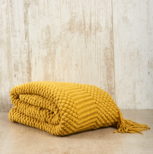 Super Soft Throw with Fringe Detail 4